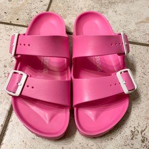Pink Birkenstock's